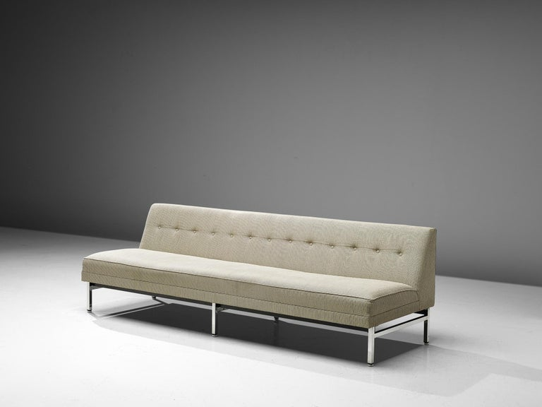 American George Nelson for Herman Miller Sofa in Off-White Fabric For Sale