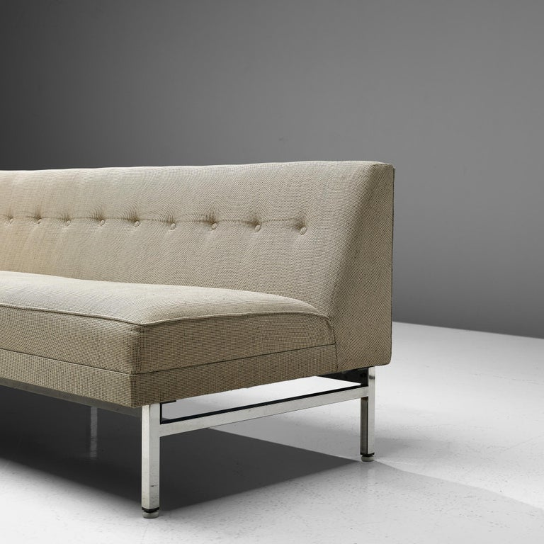 George Nelson for Herman Miller Sofa in Off-White Fabric In Good Condition For Sale In Waalwijk, NL