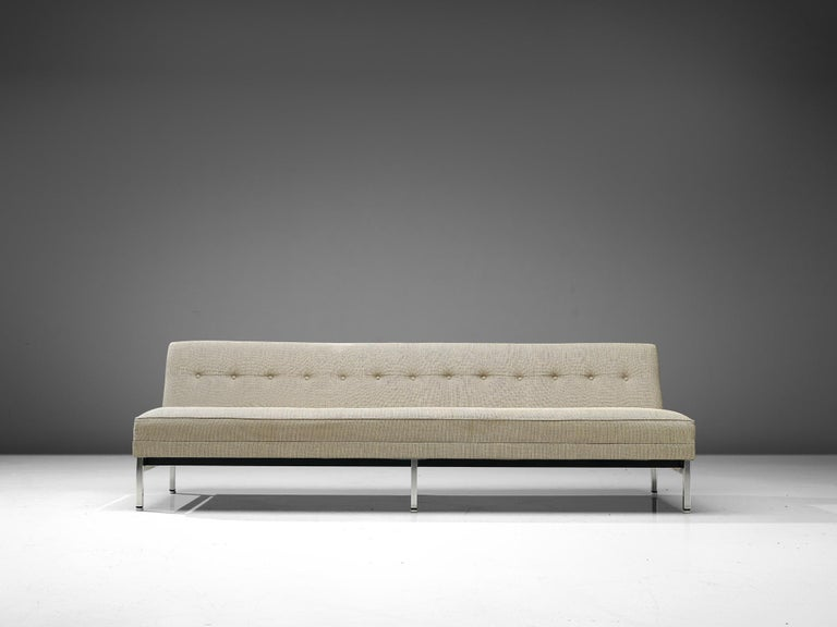 Mid-20th Century George Nelson for Herman Miller Sofa in Off-White Fabric For Sale