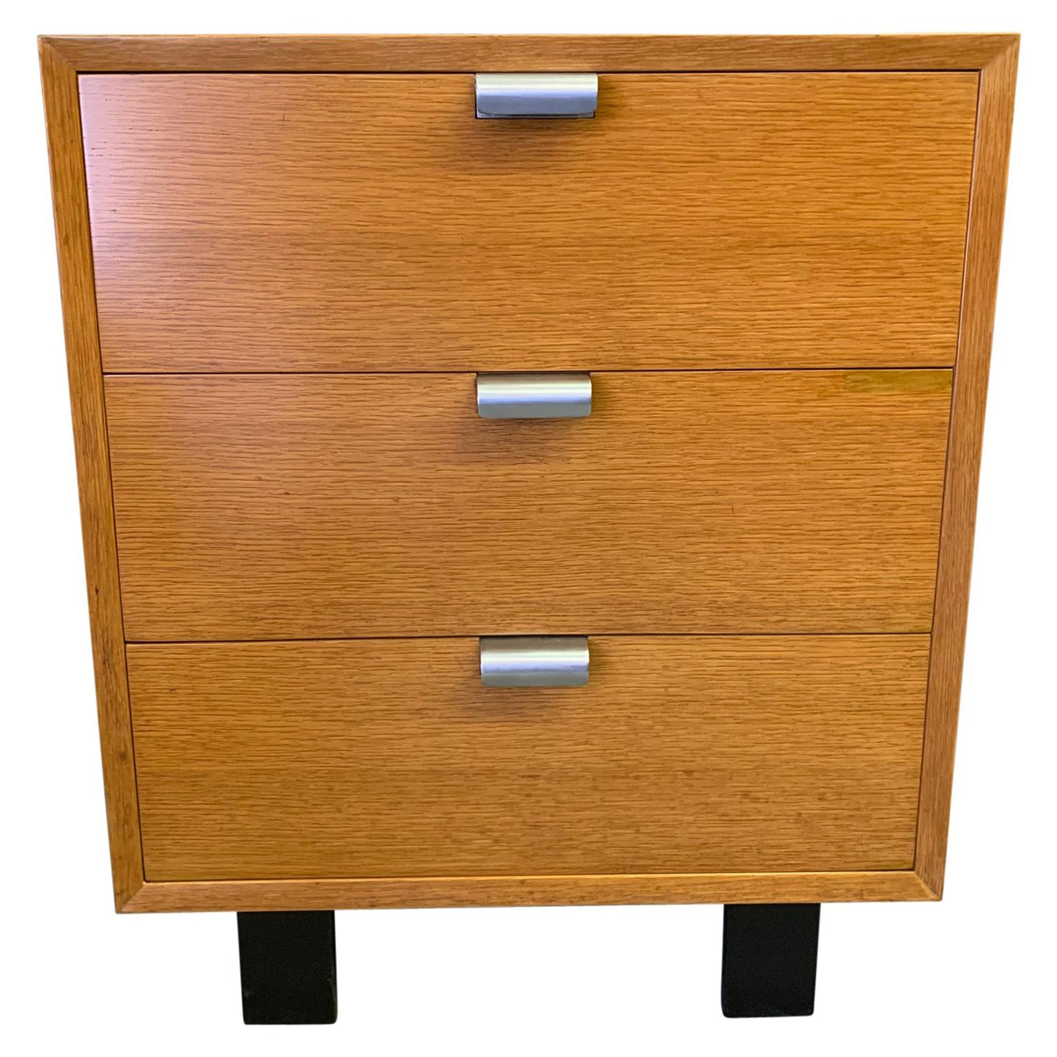 George Nelson for Herman Miller Three-Drawer Wood Chest