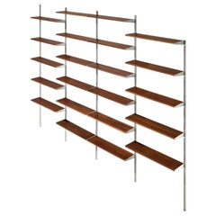George Nelson for Herman Miller Wall Unit in Walnut