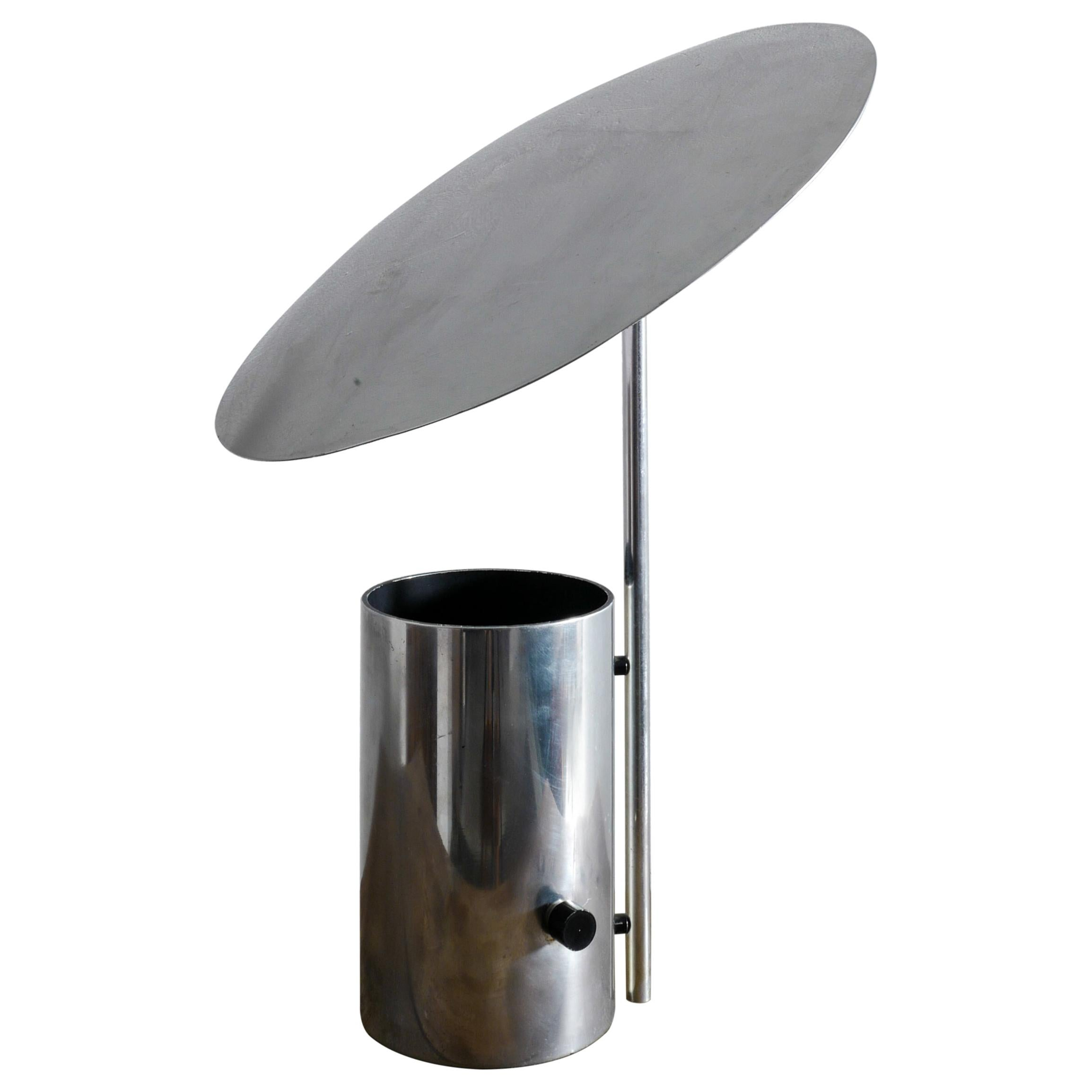 """George Nelson """"Half Nelson"""" Table Lamp Produced by Koch & Lowy, 1960s"""