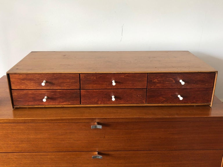 American George Nelson Herman Miller Miniature Chest # 5215 For Sale