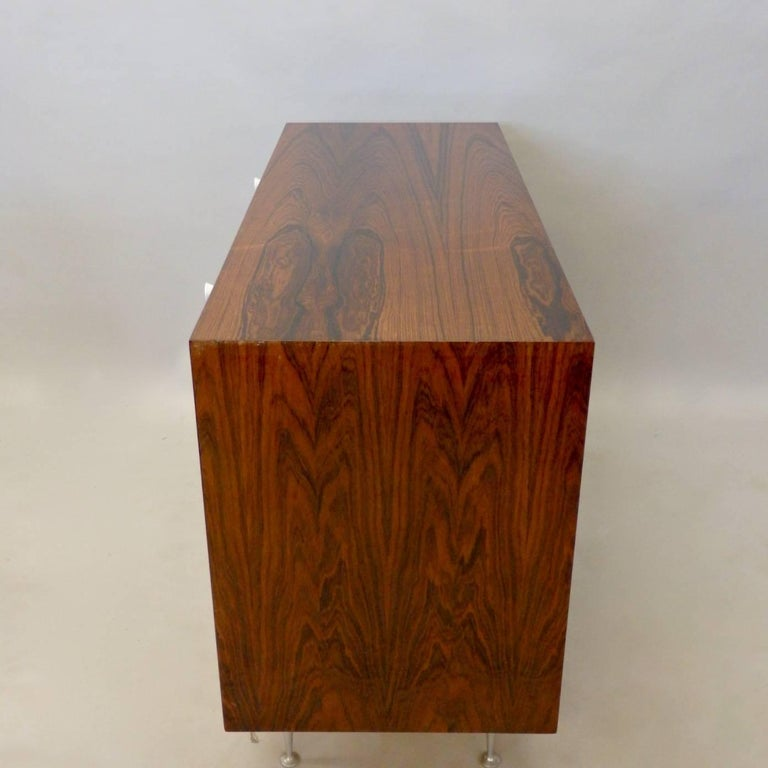 Mid-Century Modern George Nelson Herman Miller Thin Edge Rosewood Dresser For Sale