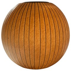 George Nelson Howard Miller Hanging Sphere Bubble Lamp