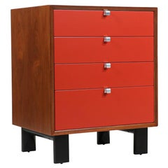 George Nelson Lacquered Chest of Drawers for Herman Miller