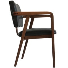 George Nelson Leather Accent or Desk Chair for Herman Miller