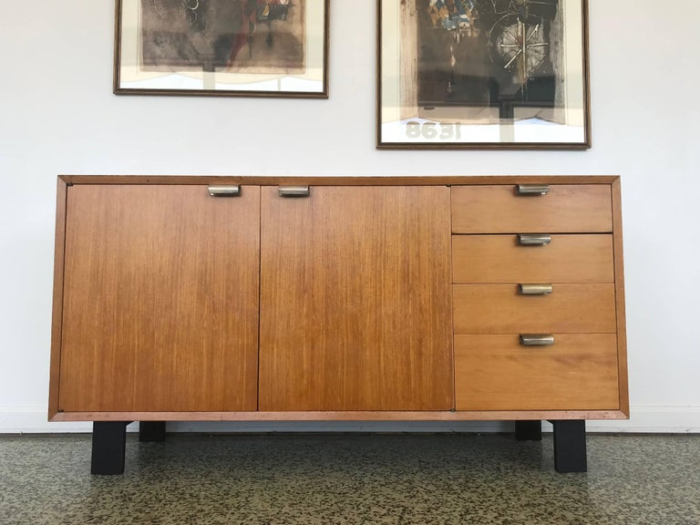 George Nelson Low Profile Credenza Sideboard for Herman Miller For Sale 5