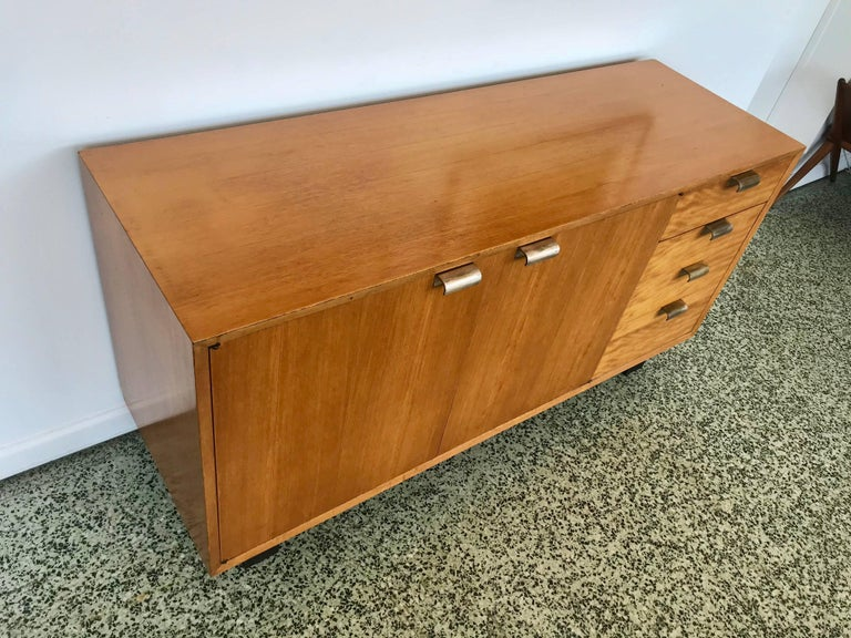 George Nelson Low Profile Credenza Sideboard for Herman Miller For Sale 1