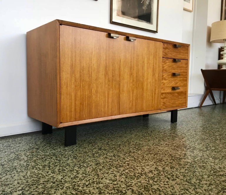 George Nelson Low Profile Credenza Sideboard for Herman Miller For Sale 3