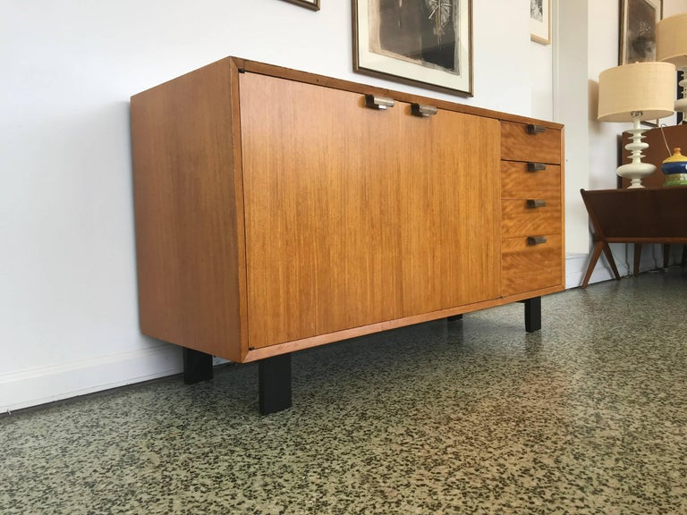 George Nelson Low Profile Credenza Sideboard for Herman Miller For Sale 4