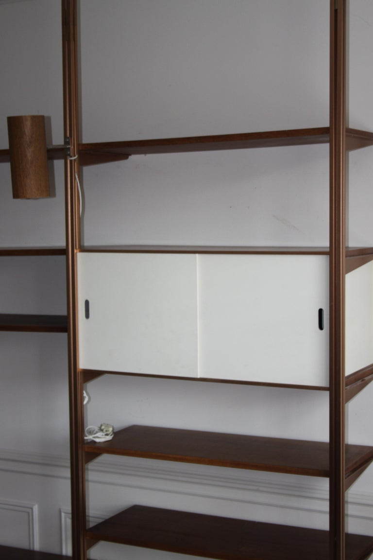 George Nelson Midcentury Storage Wall Unit Bookcase for Omni For Sale 12