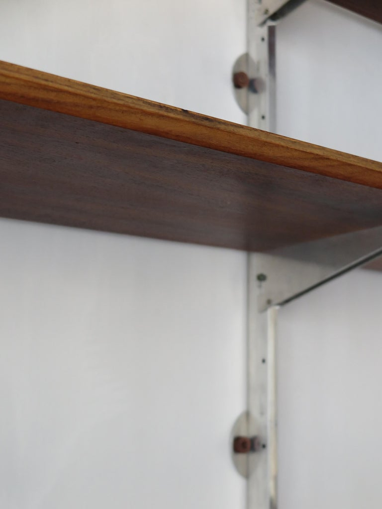 George Nelson Mid-Century Modern Wood Wall System, 1950s For Sale 6
