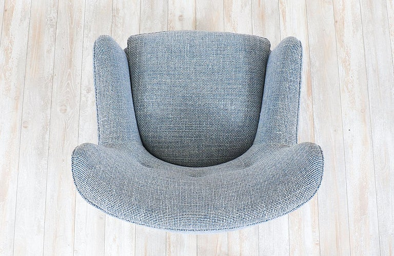 George Nelson Model-4688 Lounge Chair with Ottoman for Herman Miller In Excellent Condition For Sale In Los Angeles, CA