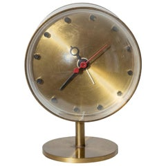 George Nelson Model 4766 Brass Clock for Howard Miller