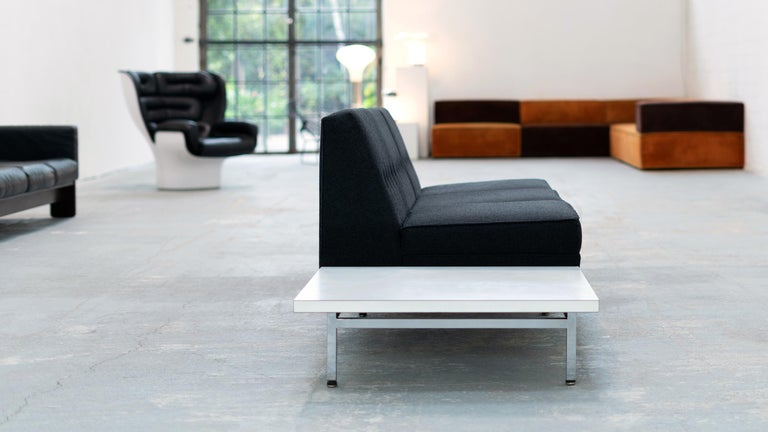 George Nelson, Modular Sofa and Table Seating System, 1966 for Herman Miller For Sale 4