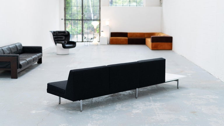 George Nelson, Modular Sofa and Table Seating System, 1966 for Herman Miller For Sale 8