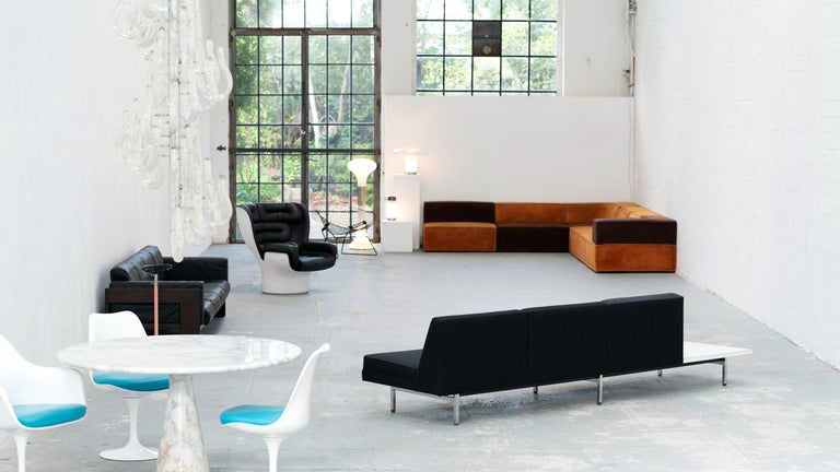 American George Nelson, Modular Sofa and Table Seating System, 1966 for Herman Miller For Sale