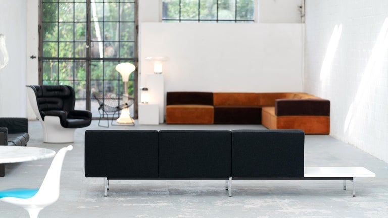 George Nelson, Modular Sofa and Table Seating System, 1966 for Herman Miller In Good Condition For Sale In Munster, NRW