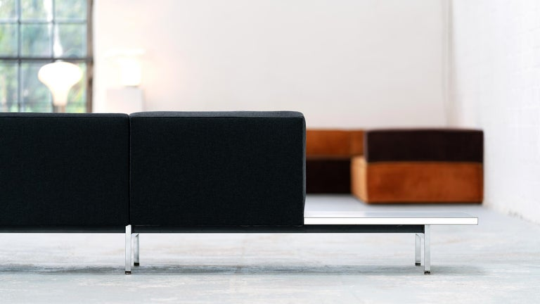 Mid-20th Century George Nelson, Modular Sofa and Table Seating System, 1966 for Herman Miller For Sale