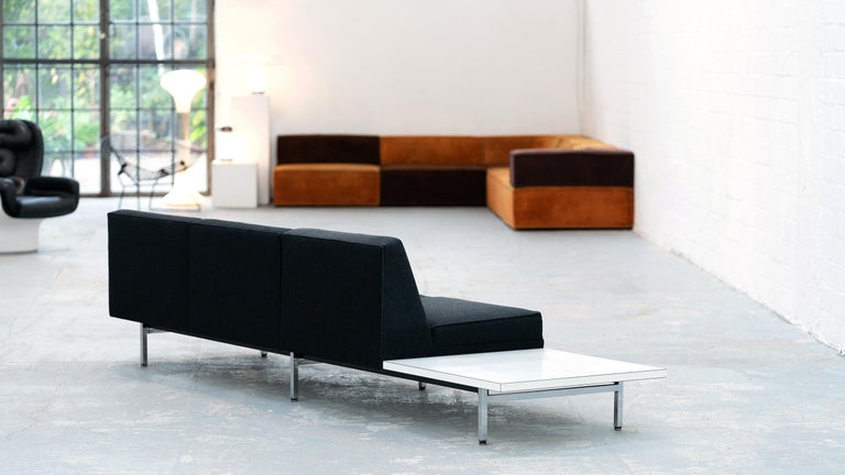 George Nelson, Modular Sofa and Table Seating System, 1966 for Herman Miller For Sale 1
