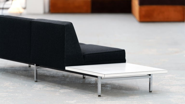 George Nelson, Modular Sofa and Table Seating System, 1966 for Herman Miller For Sale 2