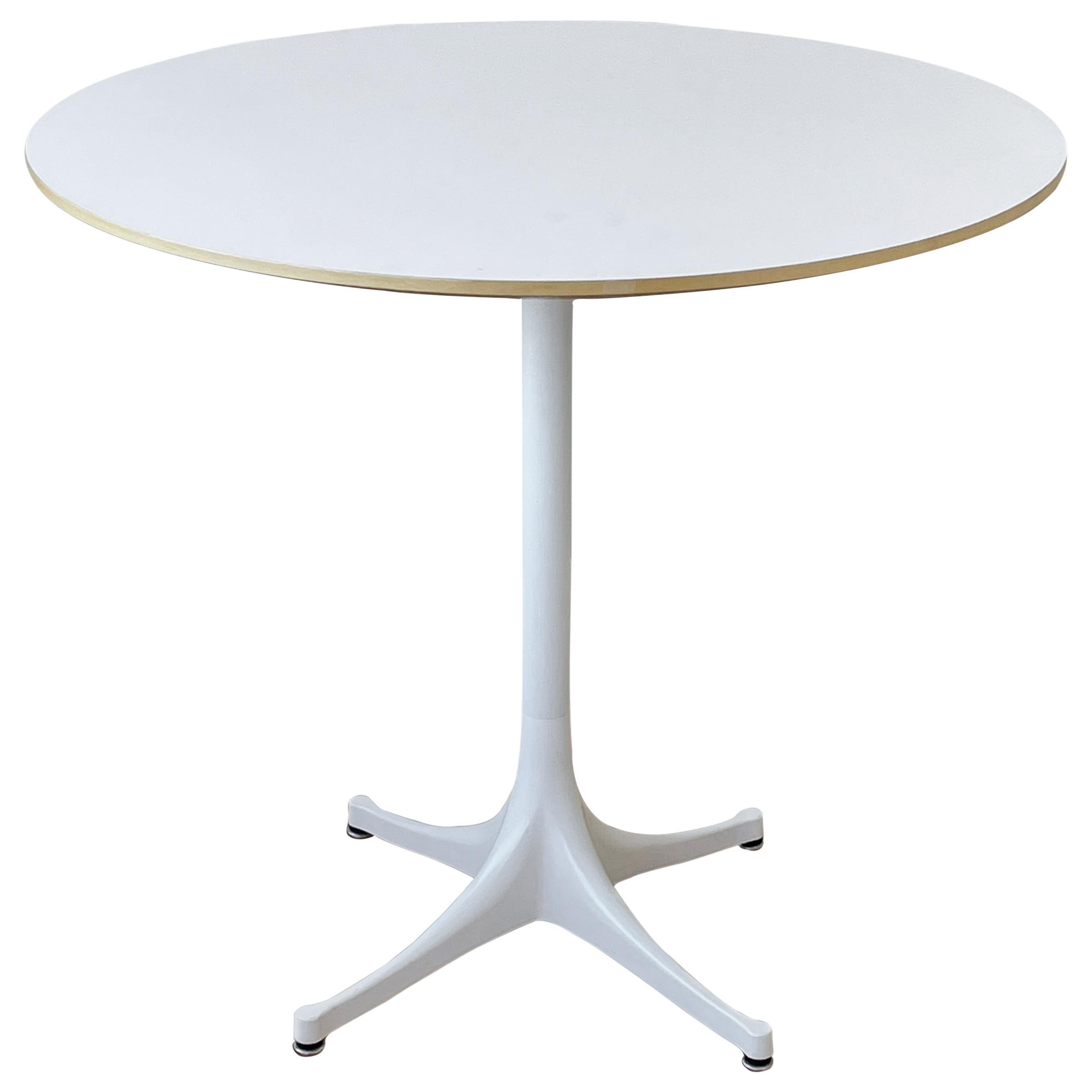 George Nelson Pedestal Table Model 5254 for Herman Miller