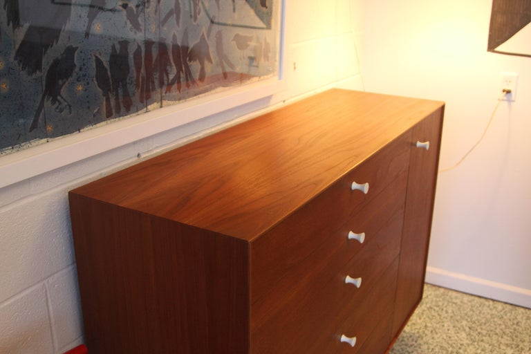 Pair George Nelson Rosewood Thin Edge Prototype Chest Dresser Herman Miller For Sale 5