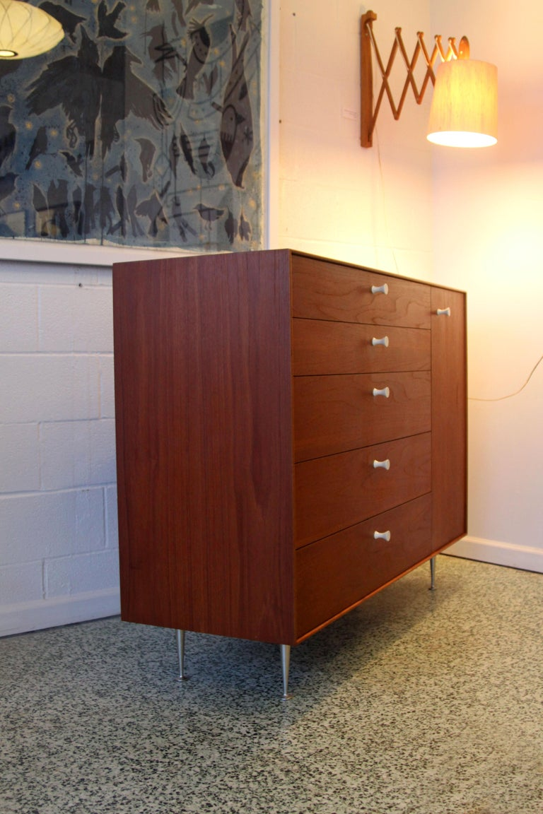 Pair George Nelson Rosewood Thin Edge Prototype Chest Dresser Herman Miller For Sale 6