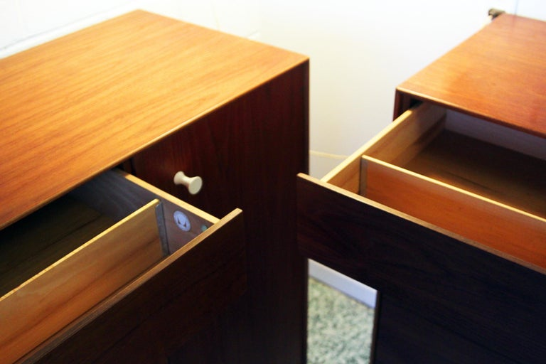 Pair George Nelson Rosewood Thin Edge Prototype Chest Dresser Herman Miller For Sale 3