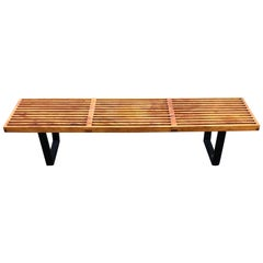 George Nelson Slat Bench or Coffee Table