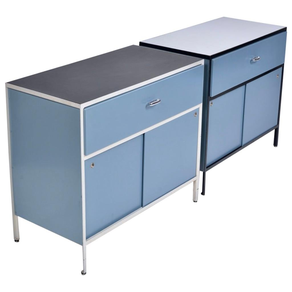 George Nelson Steel Frame Cabinets for Herman Miller