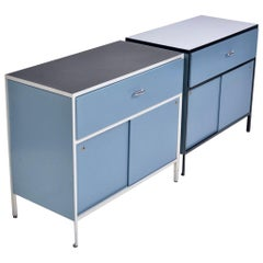 George Nelson Steel Frame Cabinets for Herman Miller