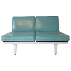 George Nelson Steel Frame Sofa - Loveseat by Herman Miller ( 1 )