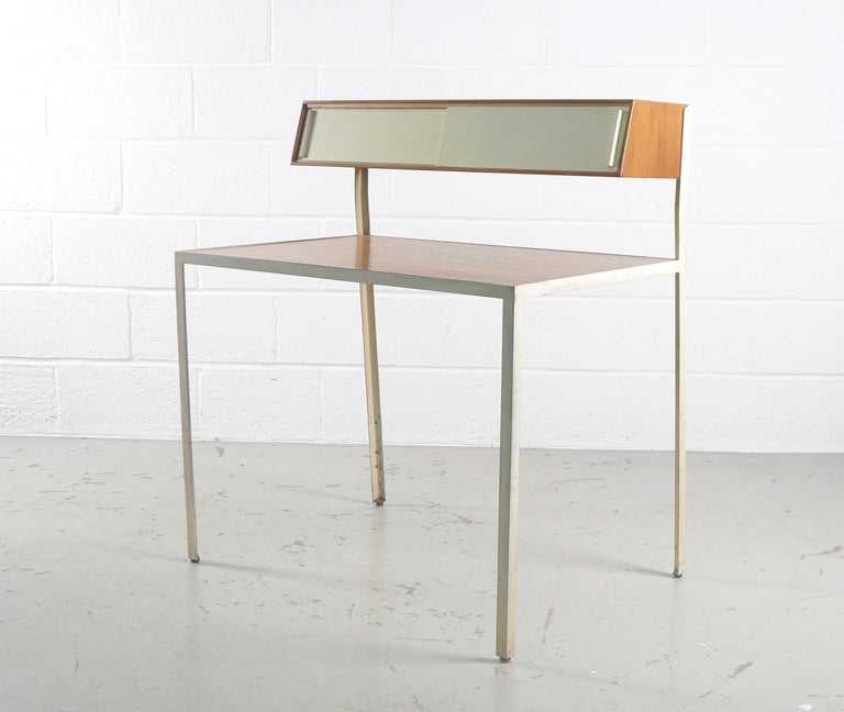 Mid-20th Century George Nelson Steelframe Desk for Herman Miller, 1950s For Sale