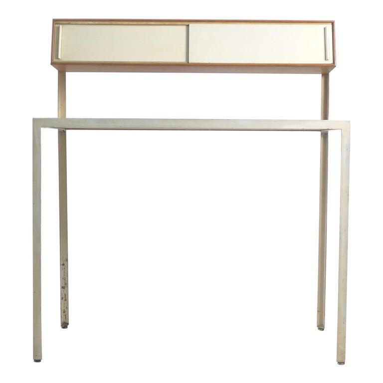 George Nelson Steelframe Desk for Herman Miller, 1950s For Sale