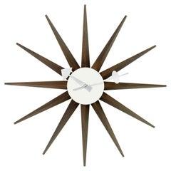 George Nelson Sunburst Wall Clock by Vitra
