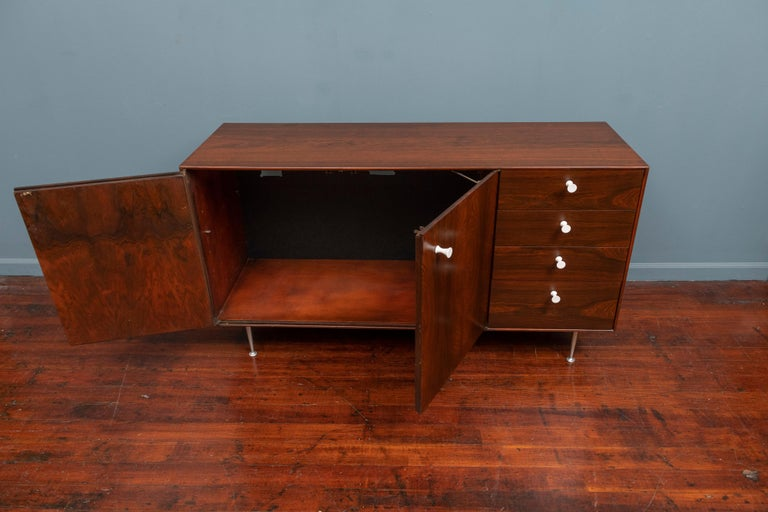 American George Nelson Thin Edge Cabinet for Herman Miller For Sale