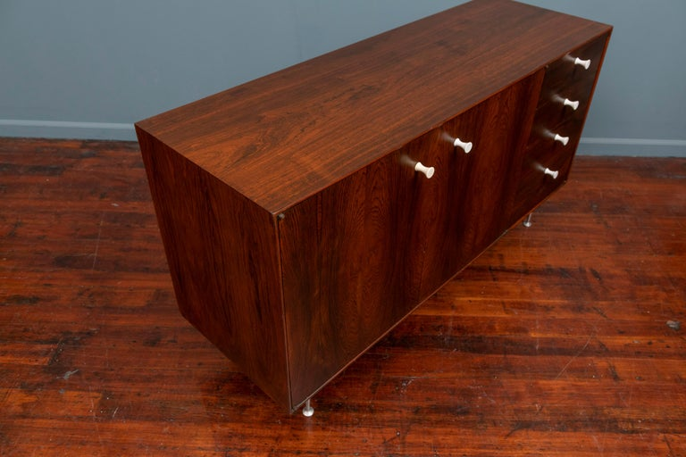Mid-20th Century George Nelson Thin Edge Cabinet for Herman Miller For Sale