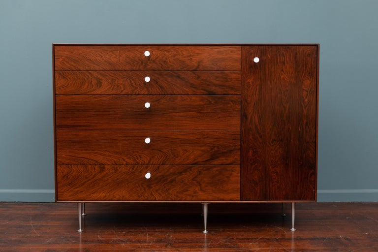 George Nelson design rosewood