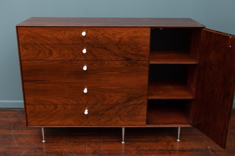 Mid-20th Century George Nelson Thin Edge Dresser for Herman Miller For Sale