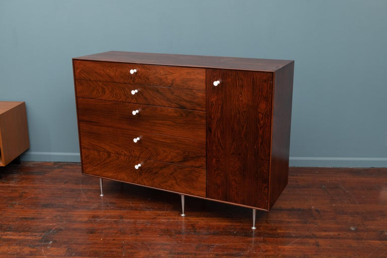 Rosewood George Nelson Thin Edge Dresser for Herman Miller For Sale
