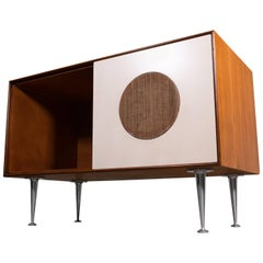 George Nelson Thin Edge Eames Stereo Cabinet Credenza
