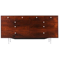 "George Nelson ""Thin Edge"" Rosewood Dresser for Herman Miller"