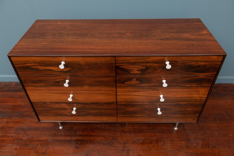 Mid-20th Century George Nelson Thin Edge Rosewood Dresser For Sale