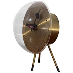 George Nelson Tripod Table Clock