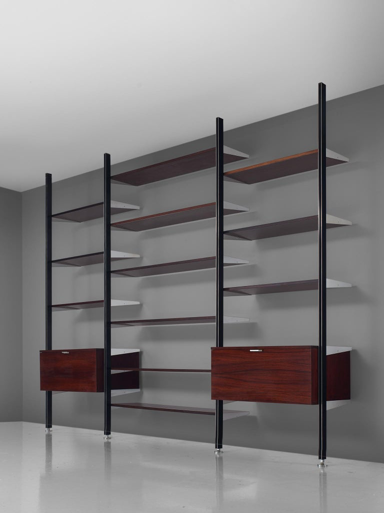 Mid-Century Modern George Nelson Wall Unit for Mobilier International