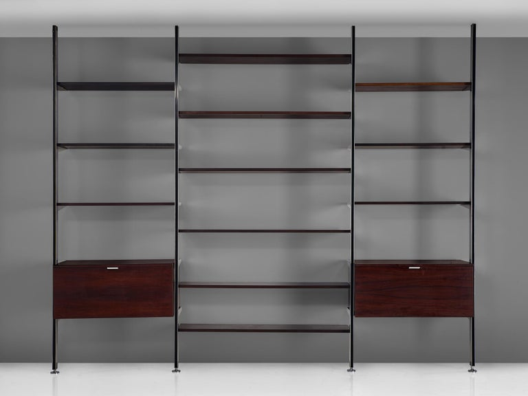 George Nelson Wall Unit for Mobilier International In Good Condition In Waalwijk, NL