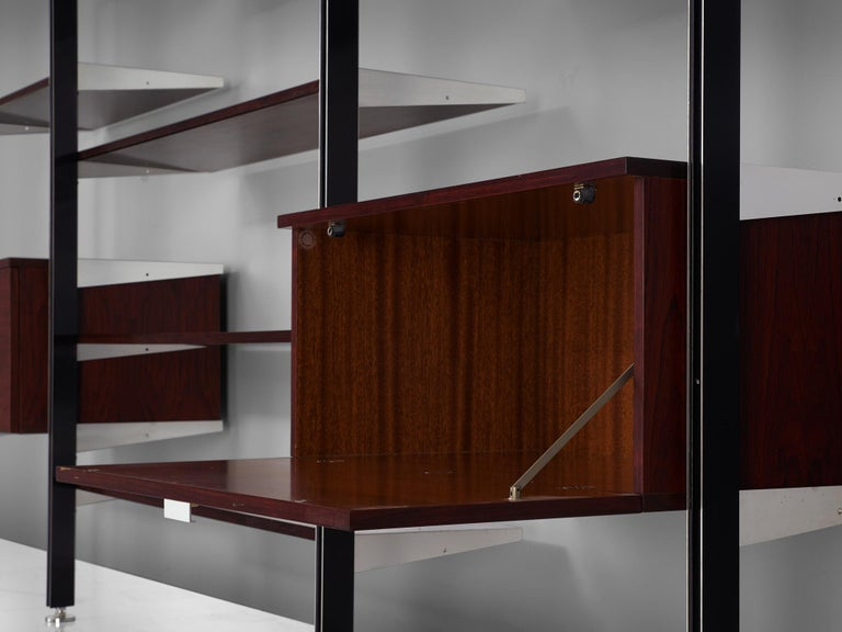Aluminum George Nelson Wall Unit for Mobilier International