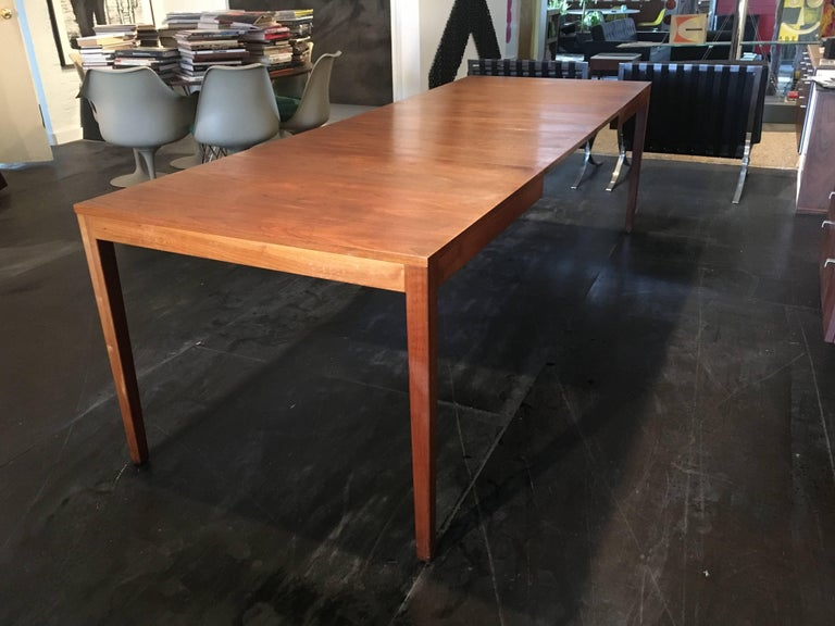 George Nelson Walnut Extension Dining Table, Herman Miller, 1950 For Sale 2